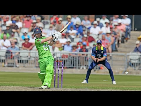 Highlights of Alex Davies' century against Durham