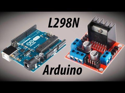 Como Usar El Driver Controlador De Motores L298N | Arduino