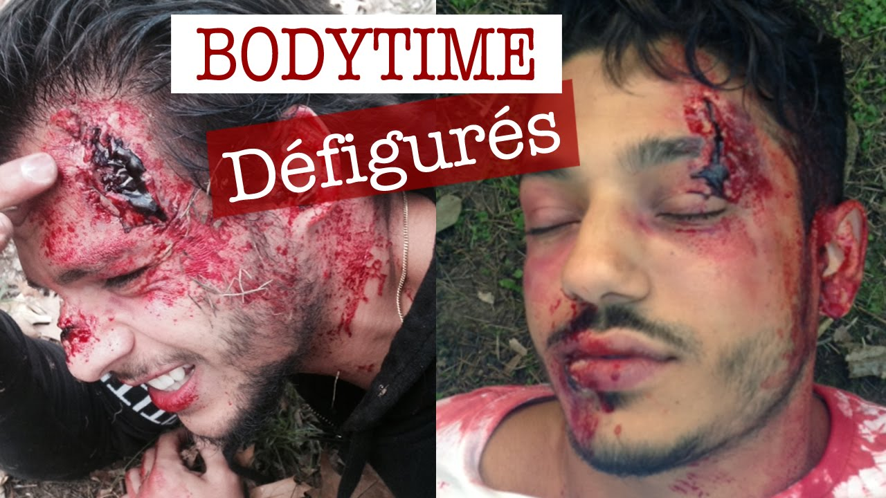 Maquillage effets sp ciaux les bodytime d figur s youtube - Maquillage halloween bouche ...