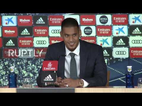 spain:-alphonse-areola-gives-presser-as-new-real-madrid-goalkeeper