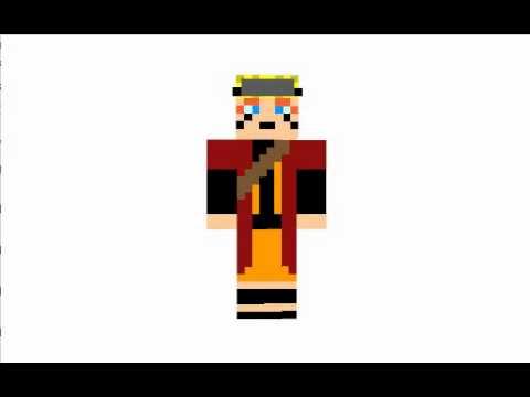 Minecraft Naruto Skins YouTube - Skins para minecraft pe de naruto