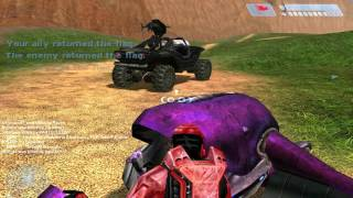 Halo: Combat Evolved - Multiplayer Gameplay On Blood Gulch (2016)