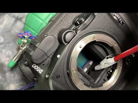 🤓 HOW TO: Clean out a DSLR MIRROR BOX lining