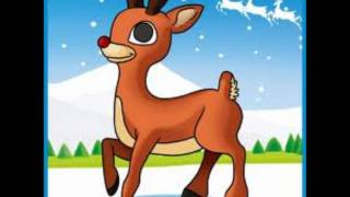 Repeat youtube video Rudolph The Red Nosed Reindeer(Lyrics)