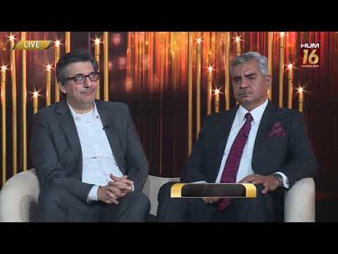 In conversation with DG ISPR Maj General Babar Iftikhar & CEO Duraid Qureshi   #16YearsOfHUMTV