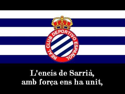 1r Himne del RCD Espanyol de Barcelona 1975