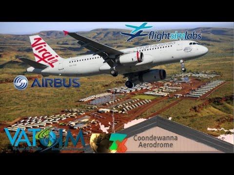 "FSLabs ""Virgin Australia"" Airbus A320 Coondewanna FIFO (P3D)"