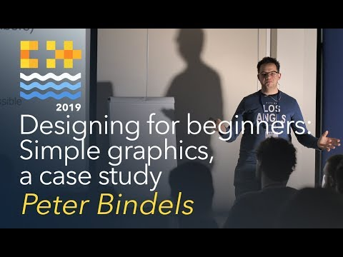 Designing For Beginners: Simple Graphics, A Case Study - Peter Bindels