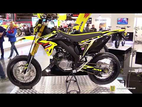 2017 Valenti Racing SM 50 Bike - Walkaround - 2016 EICMA Milan