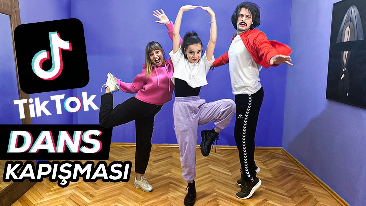 TİKTOK DANSI ÖĞRENİYORUZ ! w/ Semiraminta & Mesut Can Tomay
