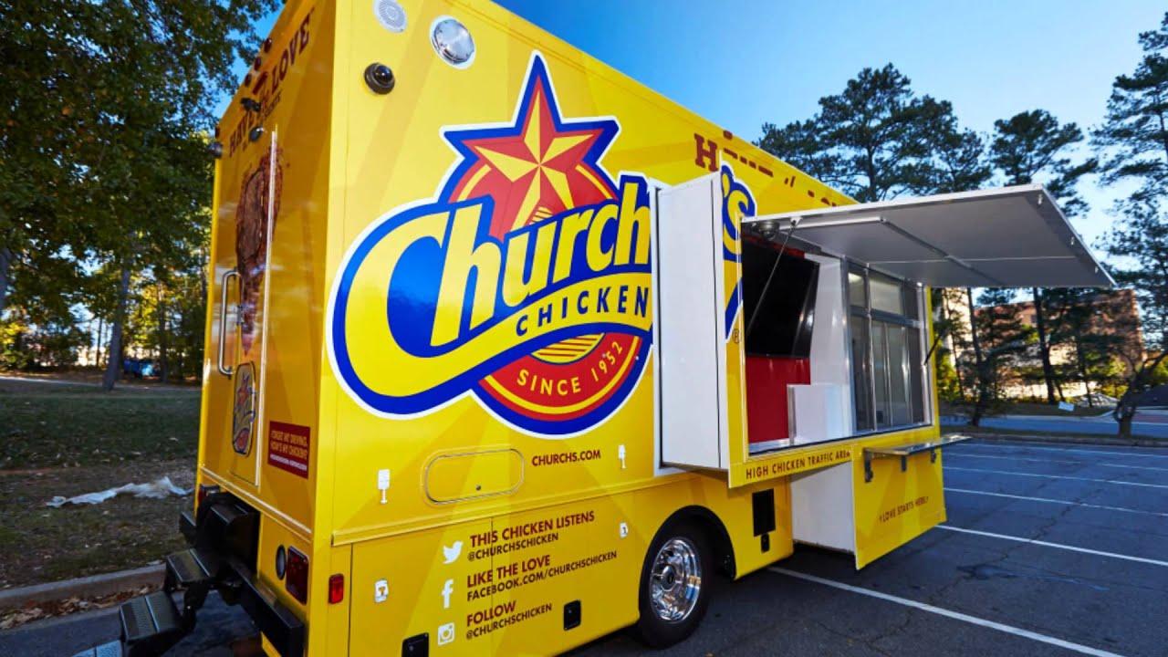 Popeyes Food Truck