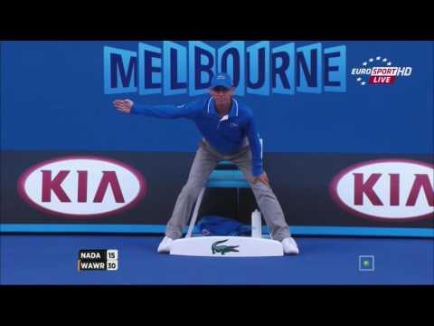 2014 - Australian Open - Finale - Stanislas Wawrinka b Rafael Nadal 6/3 - 6/2 - 3/6 - 6/3