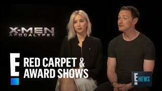 Jennifer Lawrence Talks Sex Scene With Chris Pratt! | E! Live from the Red Carpet