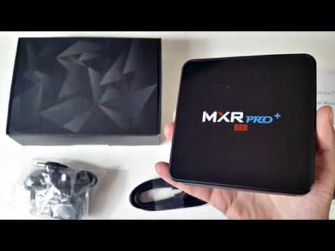 MXR PRO PLUS - 4K Android TV Box / RK3328 / 4GB + 32GB