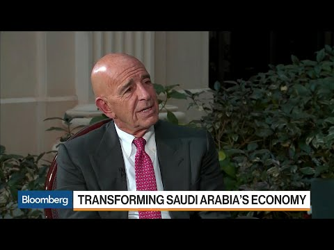 Tom Barrack Says Saudi Crown Prince Is Amazing Young Man