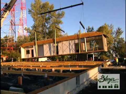 Modular Building Installation - Oregon