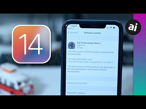 Everything New In Ios 14 Beta 7 App Library Wallpapers Youtube