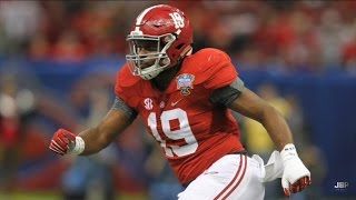 Hardest Hitting LB in College Football || Alabama LB Reggie Ragland 2015 Highlights ᴴᴰ
