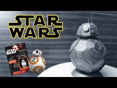 Miniature Metal 3D Puzzle Star Wars BB8 DIY