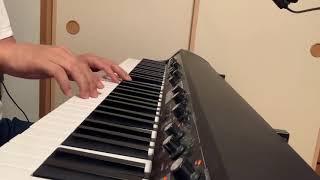 コード展開も歌詞の世界観も大好きな曲。1番だけピアノで。