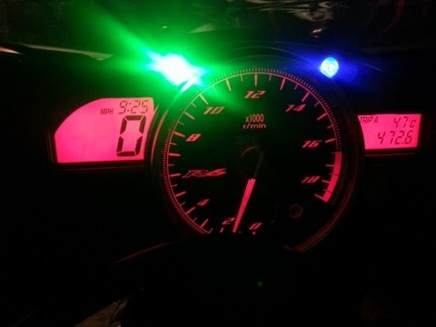 Yamaha R6 2012 0-60MPH FAST!!!!! HD