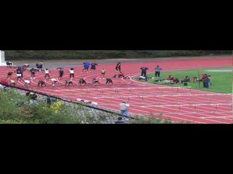 Women 100m Hurdles Heat 3 Prelims California Nevada Champs 2013