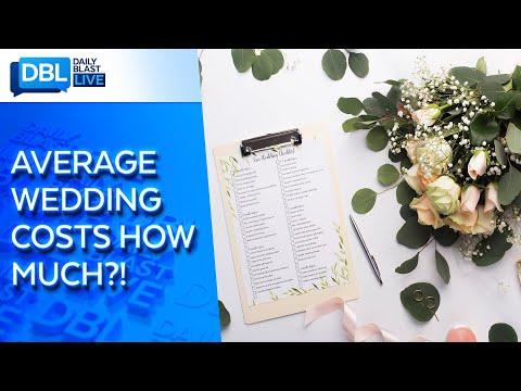 Average Cost Of American Weddings