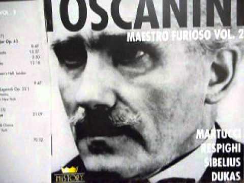 """超強烈Live!Toscanini(cond.)Respighi """"I Pini di Roma""""~l Pini della Via Appia"""