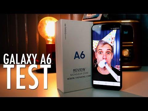Samsung Galaxy A6 - Le Test