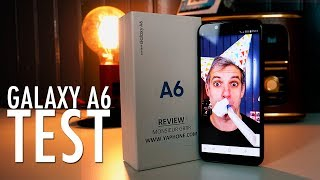 Samsung Galaxy A6 - Le Test