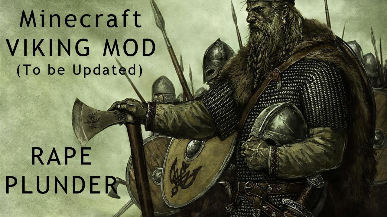 Viking Mod Minecraft Shoot Lightning YouTube - Minecraft wikinger hauser