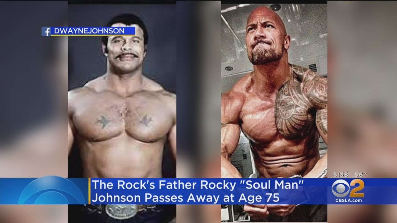 Rocky Johnson, WWE Hall of Famer and Dwayne Johnson's dad ...