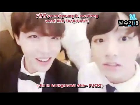 "[Deleted Vapp/ENGSUB] Jungkook: ""Let's not swearing"""