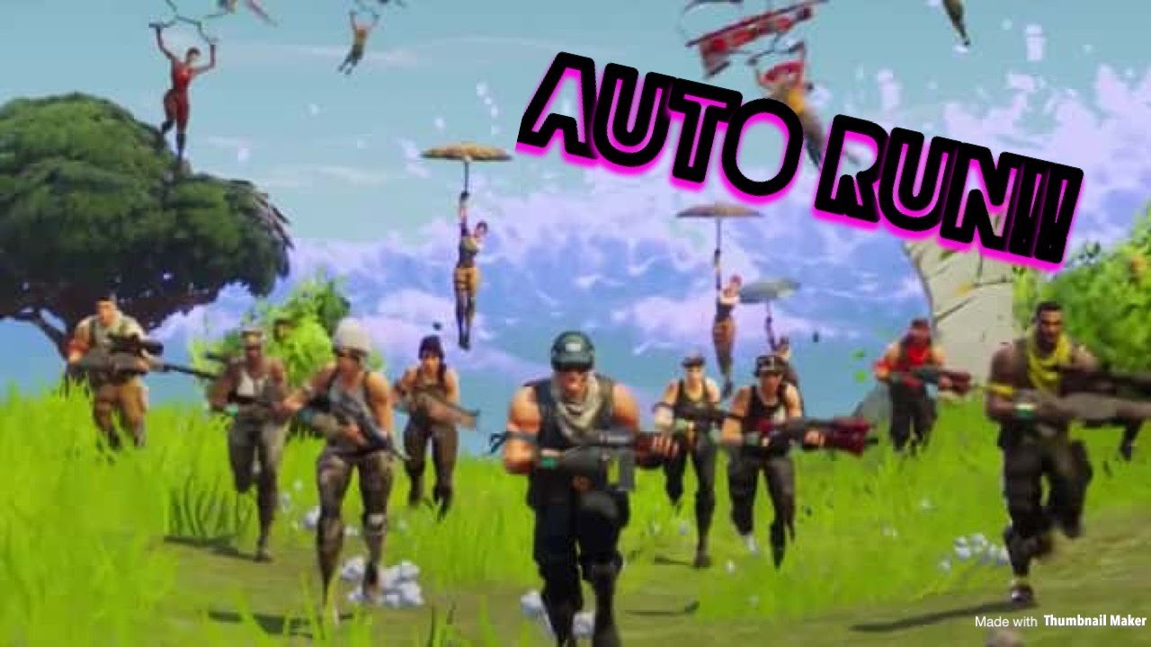 how to auto run in fortnite battle royale - autorun fortnite xbox