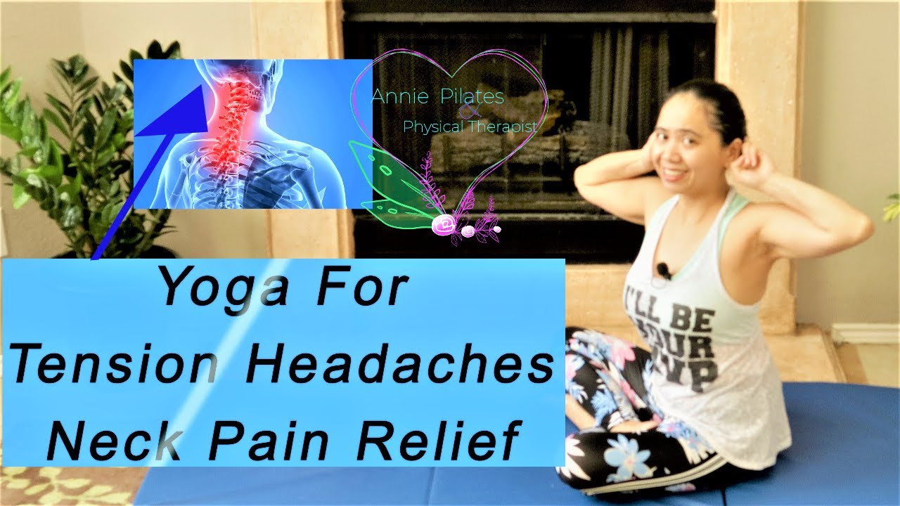 Beginners and Easy Gentle Yoga For Neck Pain And Tension Headache Instant Fix!