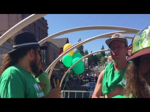Cannabis Alliance parades with Bloko