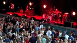 Train concert 2012 with Andy Grammer and Mat Kearney