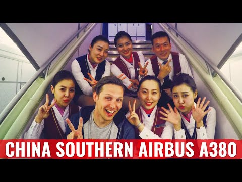 Reviewing China Southern Airlines Airbus A380