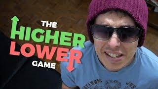 TE DESAFIO A VENCER MEU SCORE | Higher or Lower / The Higher Lower Game