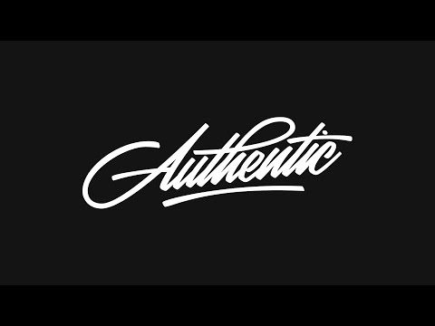 Speed Art | Be Creative & Be Authentic [Custom Lettering]