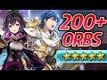 Fire Emblem Heroes - 200+ Orbs Summons: LUCKY Branded King Banner -Male & Female Morgan, Exalt Chrom