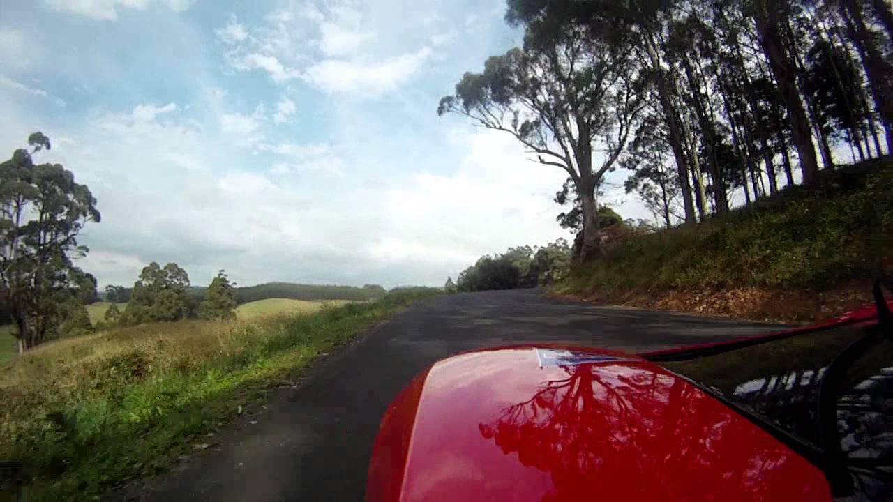 Targa Tasmania 2011 - In the Cockpit of a Tesla Roadster