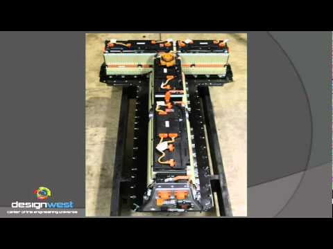 Chevy Volt teardown: The battery pack - YouTube
