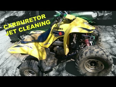 CLEANING YOUR ATV OR BIKE CARBURETOR JET AND FLOAT BOWL | HOW TO VIDEO