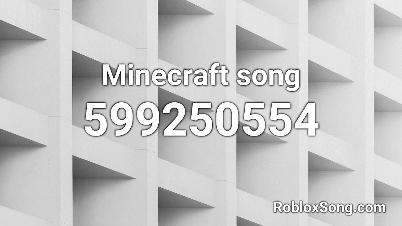 Minecraft Roblox Song Id Minecraft Song Roblox Id Music Code Youtube