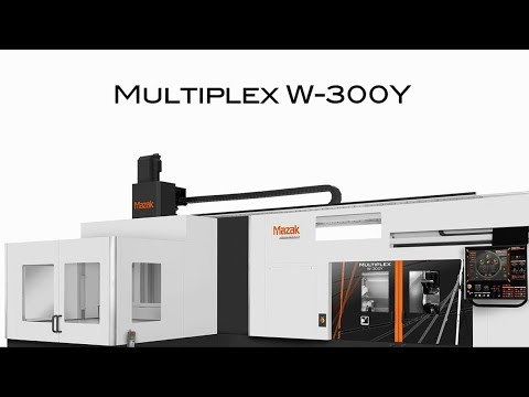 MULTIPLEX  W-300Y+GL:Symmetrical Machine Design With 2 Spindles And 2 Turrets