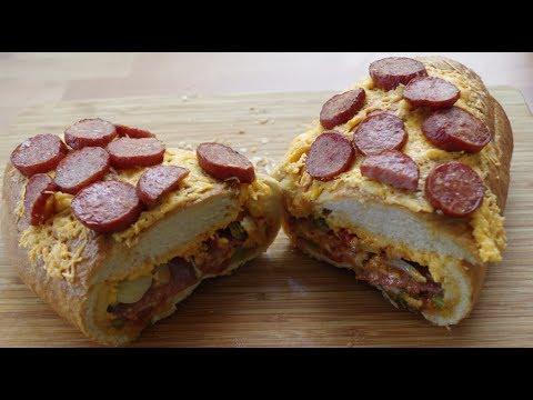 pizzabrot gefüllt youtube