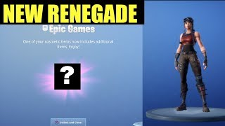 NOUVEAU RENEGADE RAIDER IN FORTNITE Saison 8 New Styles Elite Agent, Whiteout, Overtaker Free