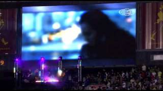 Jessica Mauboy - Burn & Running Back (MCG 2009)