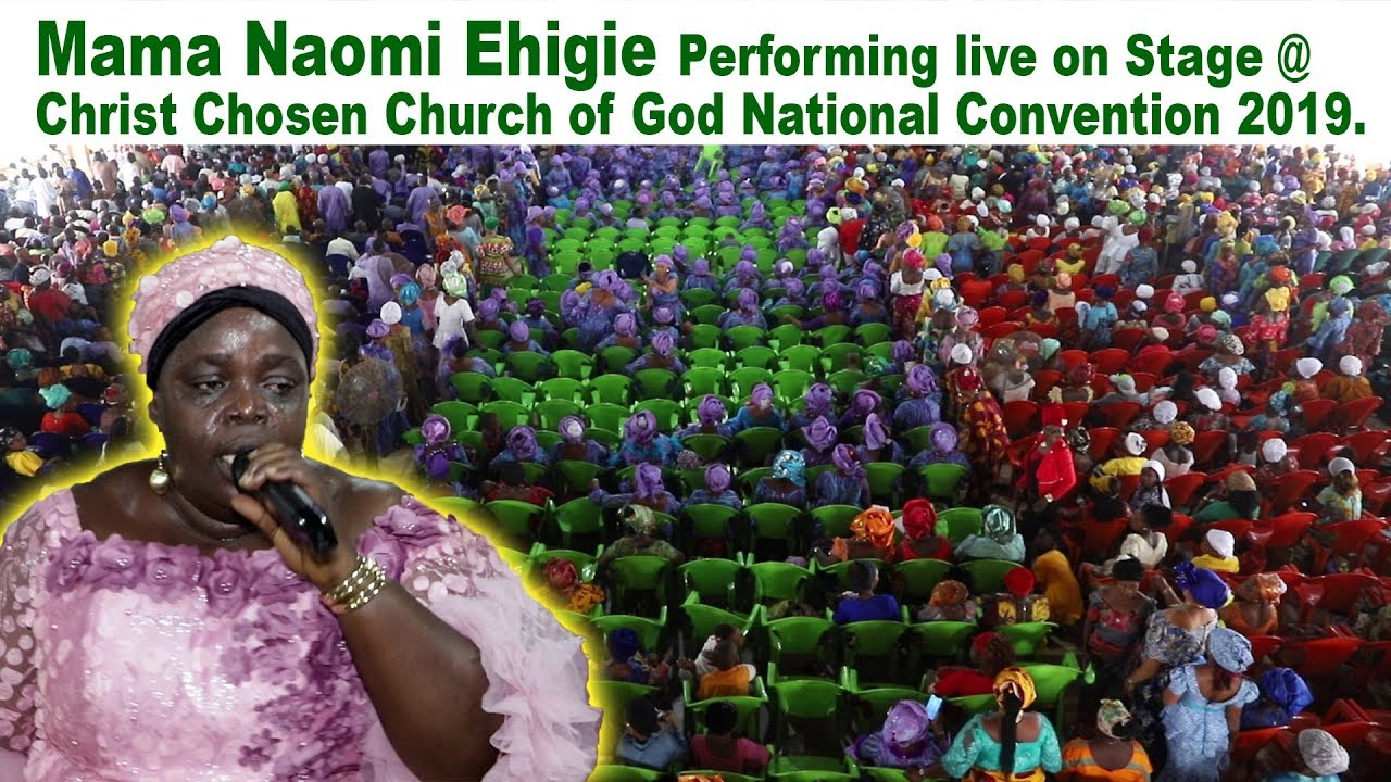 Download Naomi Ehigie Performing live @  Christ Chosen Church of Christ  National Convention 2019.